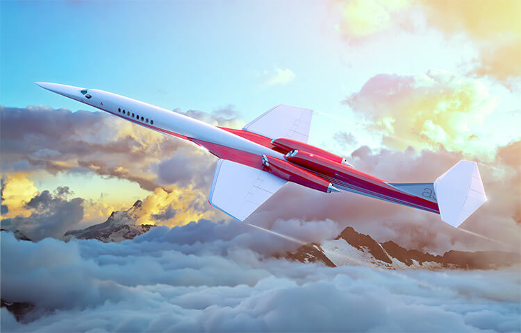aerion supersonic business jet 2023