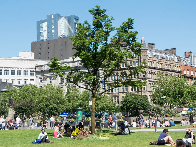 city of trees project manchester 25 years timeline future 2040s 2042