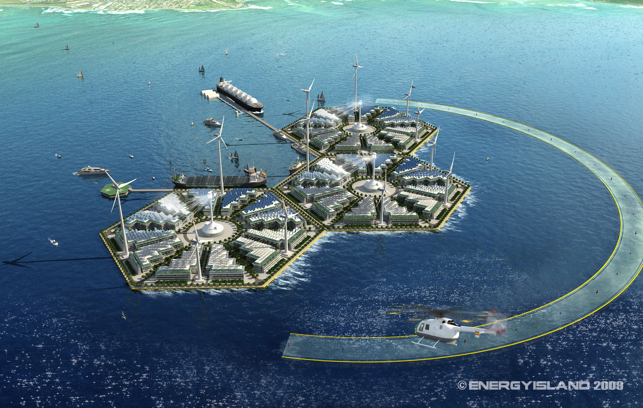 Energy Islands Future Timeline 2050 2100 2150