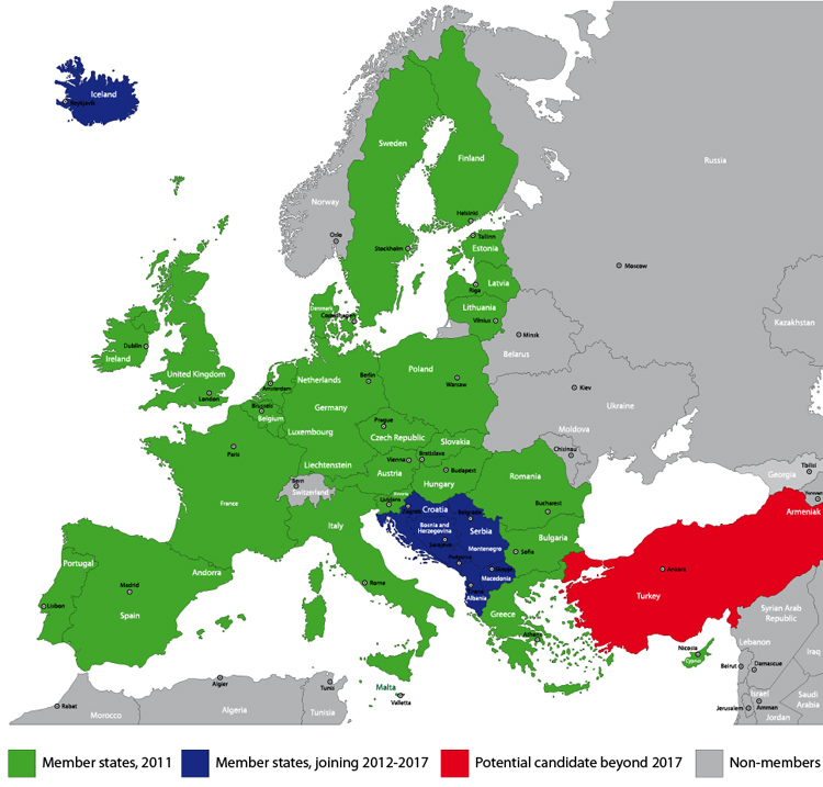 european union future timeline map
