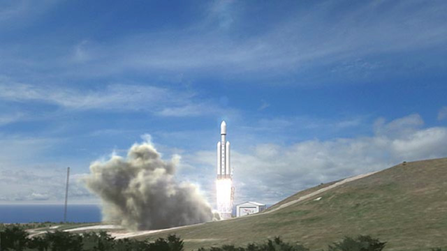 falcon heavy mars 2013 future space