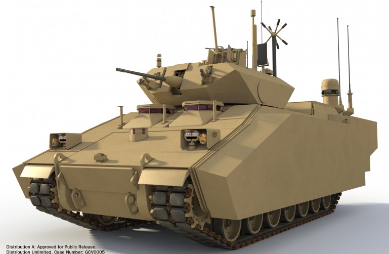 ground combat vehicle technology development 2019