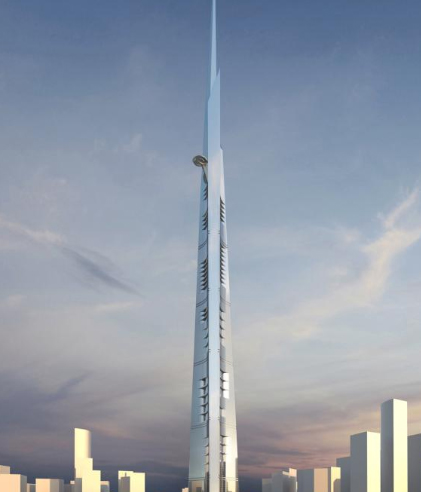 kingdom tower jeddah saudi arabia 2017 tallest skyscraper world