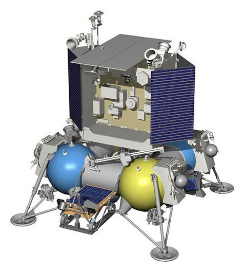 Luna 27 lands on the far side of the Moon