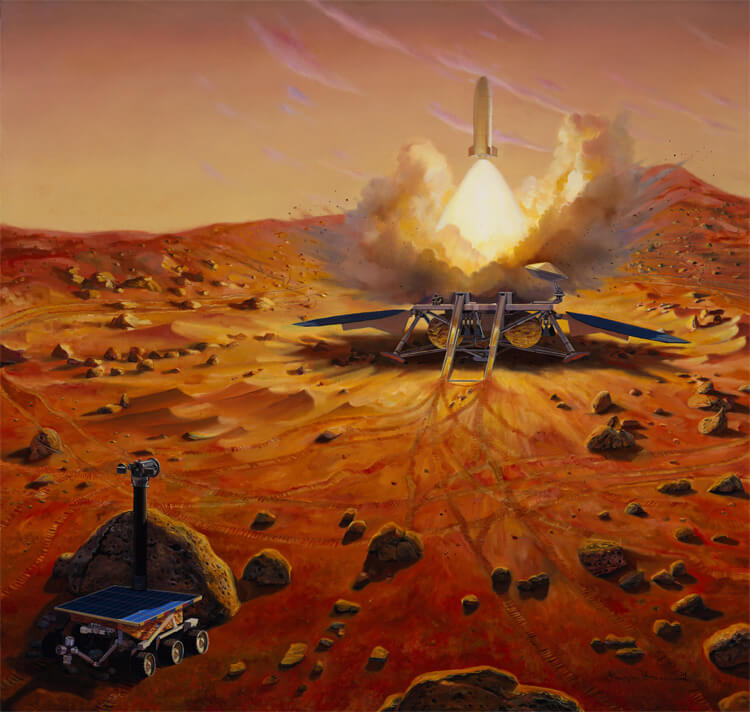 mission to mars concept art - photo #18