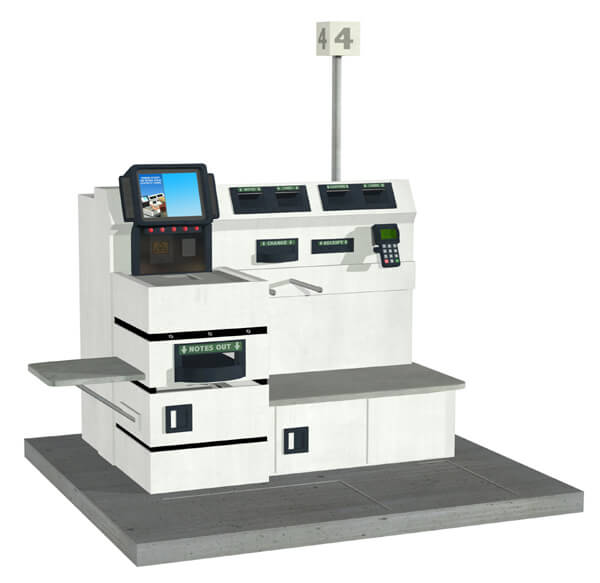 self service checkout automation future technology