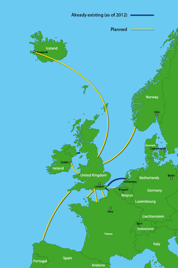 uk offshore grid connections 2020 future energy map europe