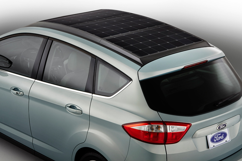 ford solar powered car technology