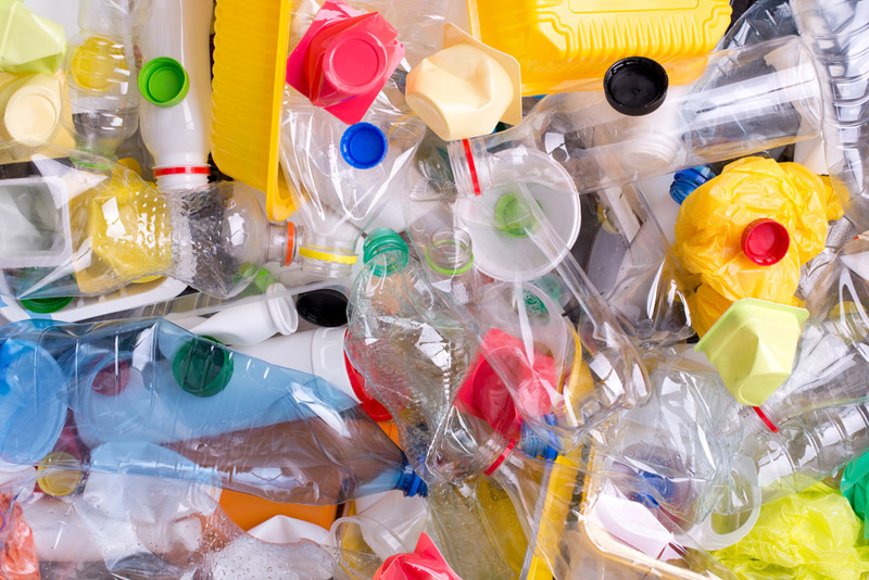 plastics ready for recycling