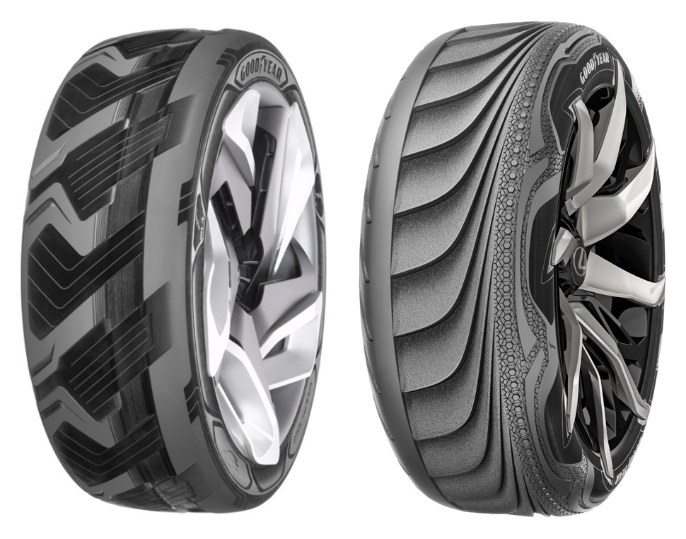 Futuristic Tires Could Boost Electric Vehicles