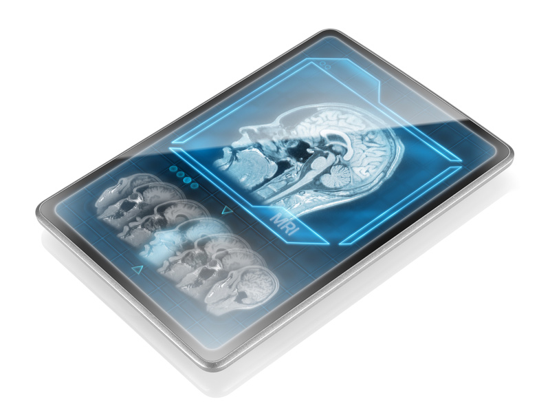 human brain mri tablet scan device technology future 2050