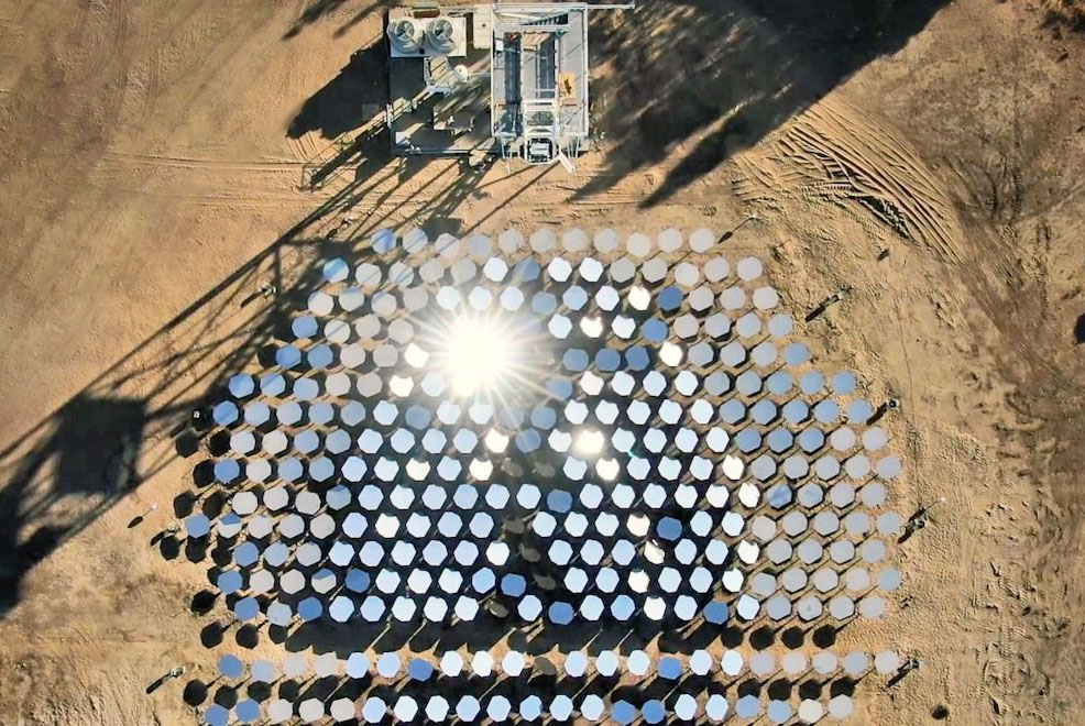 concentrated solar technology future timeline