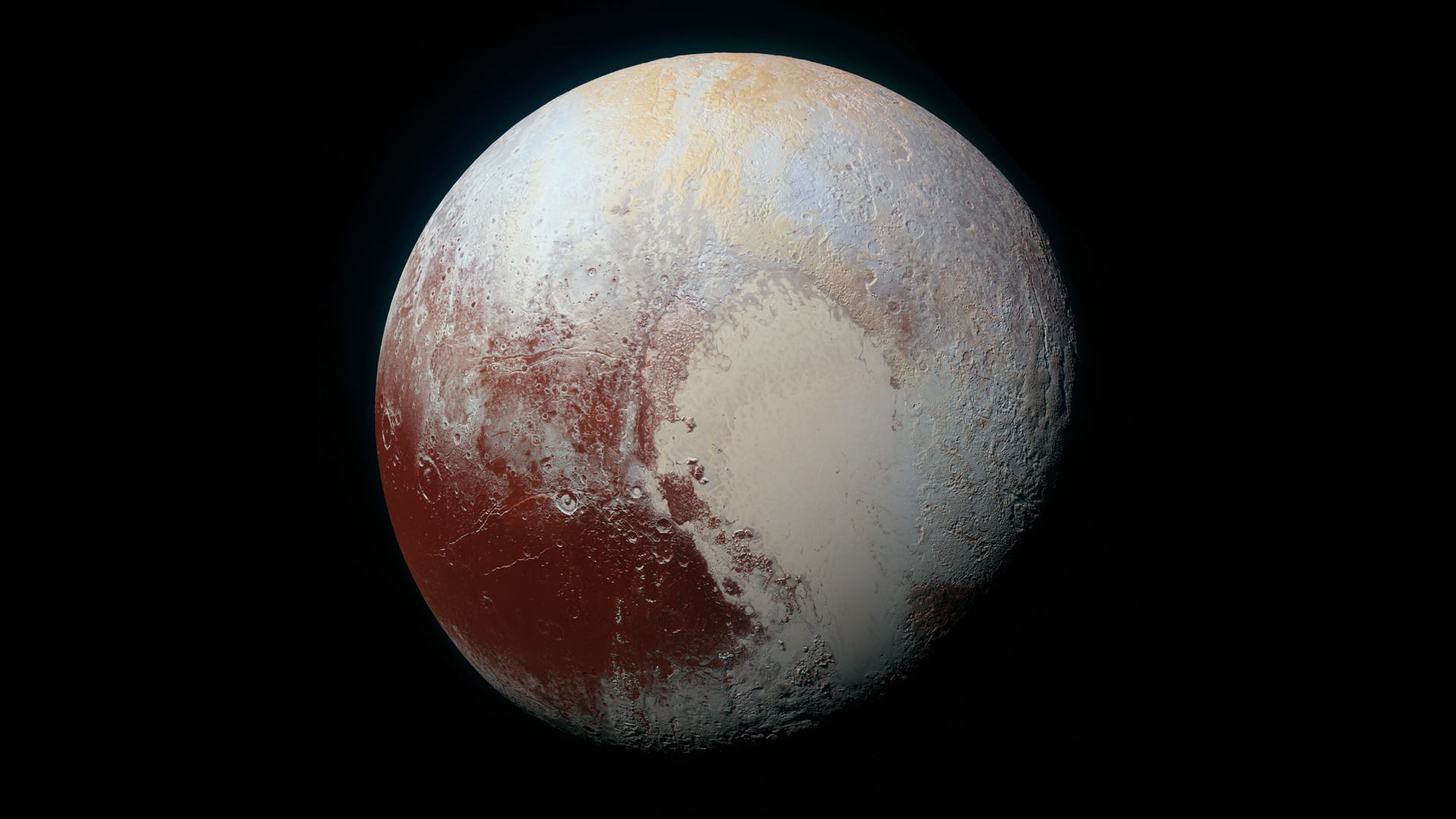 Latest images from Pluto