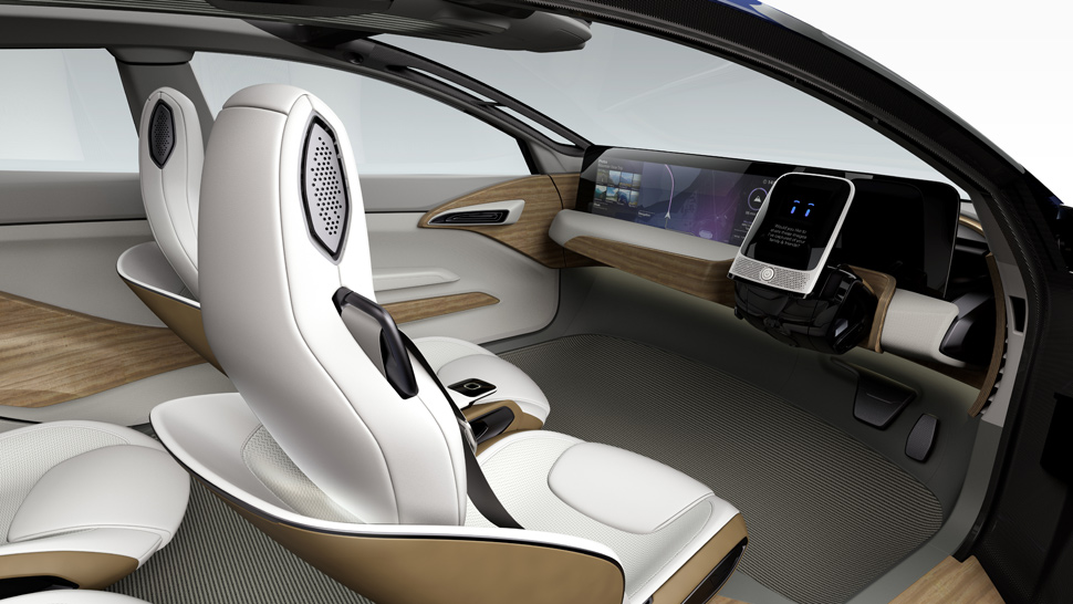 A shape-shifting, self-driving concept car by Nissan