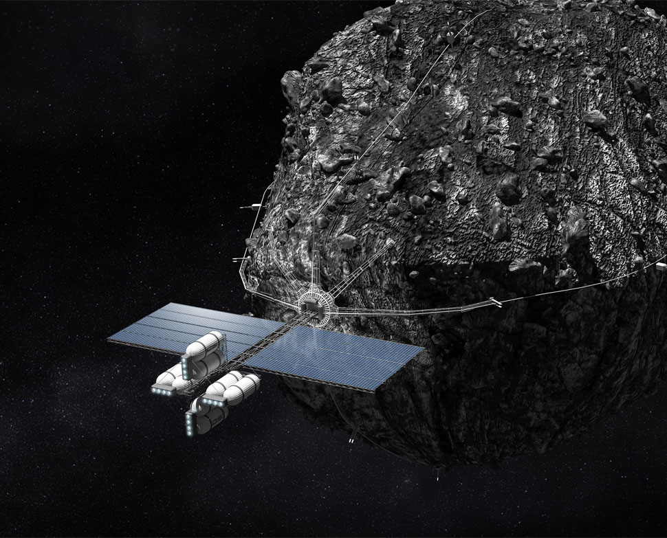asteroid mining technology future timeline