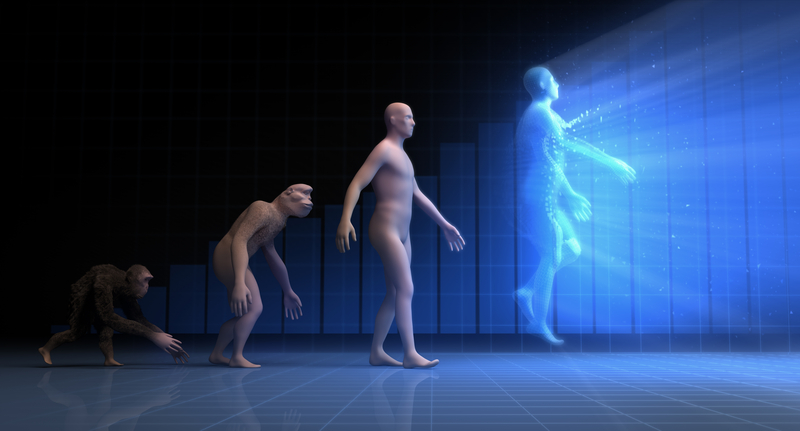 far future human evolution cyborgs timeline evolution