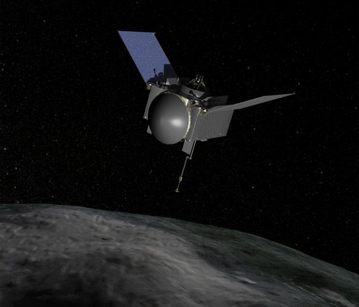 asteroid sample return mission probe 2023