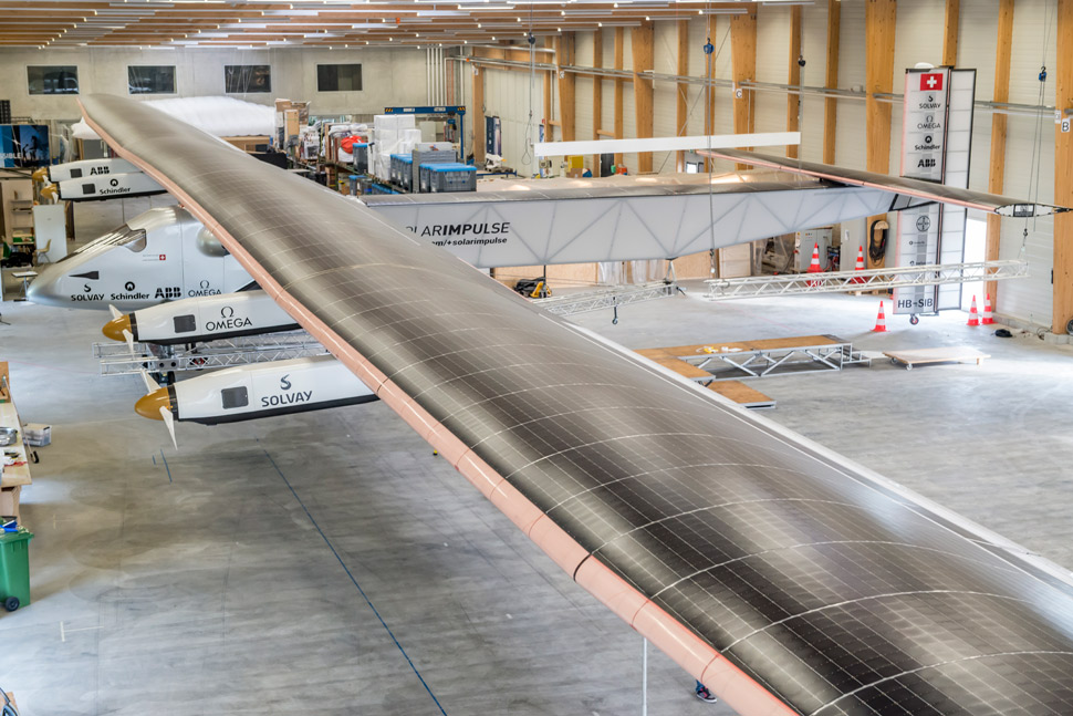 solar impulse hangar