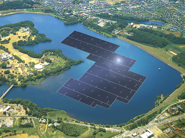 Japan to build worlds largest floating solar power plant