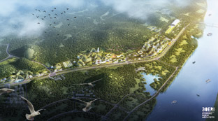 china forest city 2020