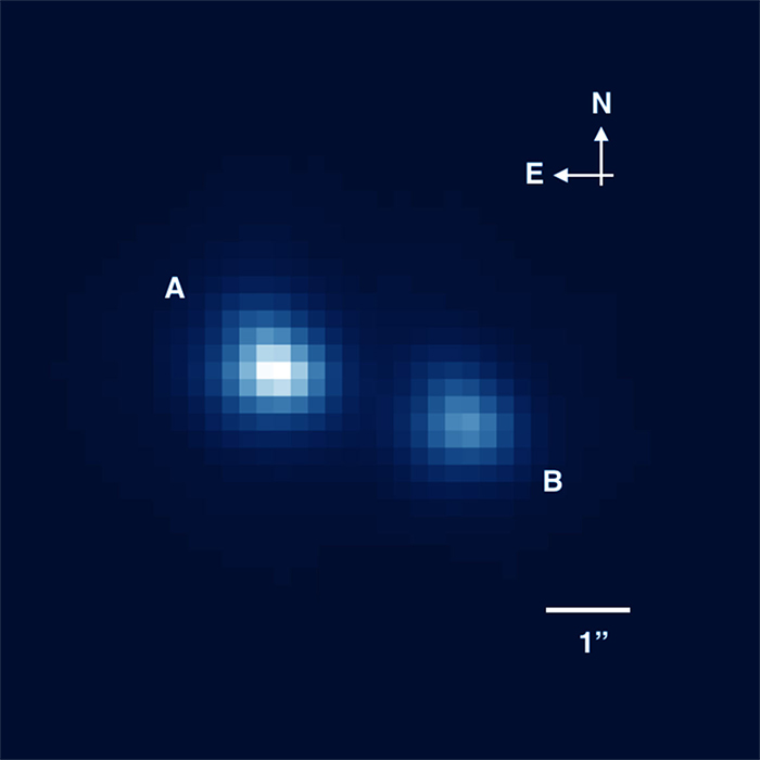 smallest star binary system