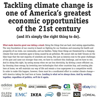 climate change economic opportunity