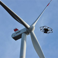 Wind turbine drone inspection future timeline 2024
