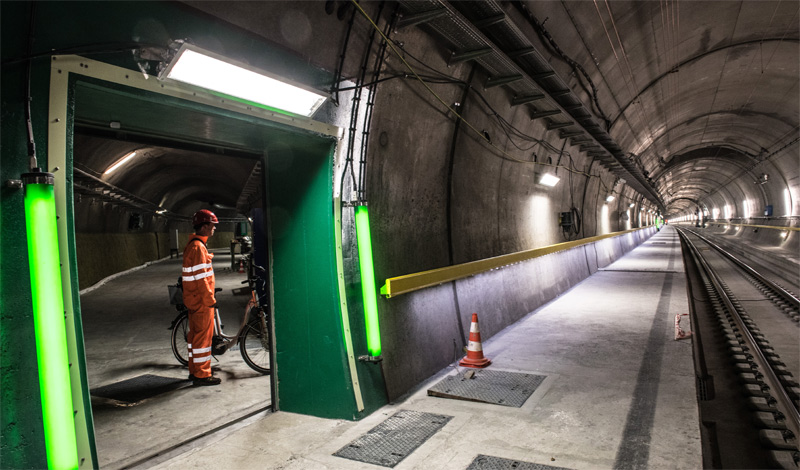 World's longest and deepest rail tunnel officially opens in Switzerland