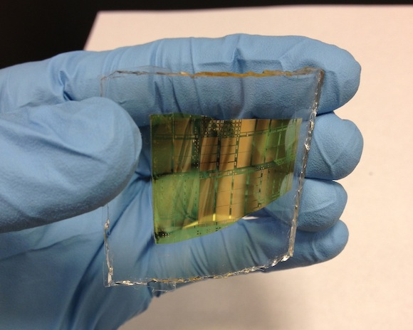 Hybrid circuit material could replace silicon