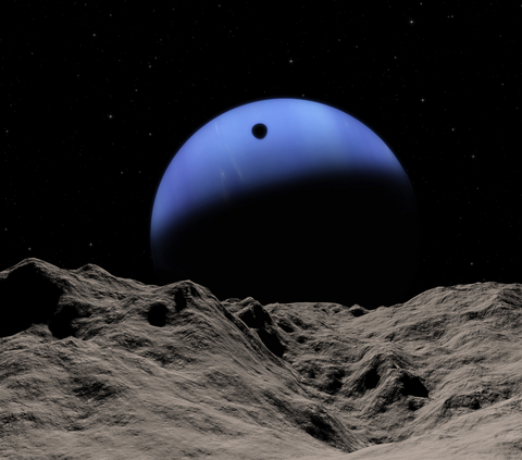 triton neptune decaying orbit collision future 10 million AD