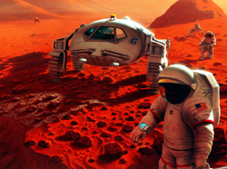 future timeline 2050 technology predictions mars space