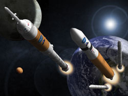 future timeline space travel exploration technology mars moon earth