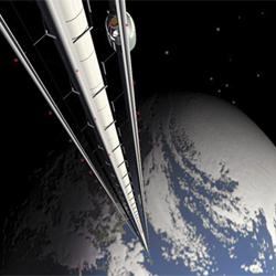 future timeline space elevator poll image