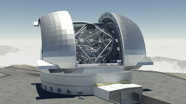european extremely large telescope 2018
